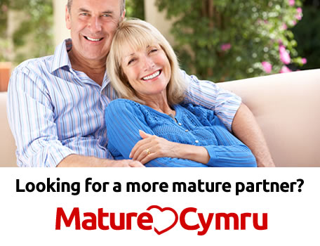 Mature Dating Wales  banner